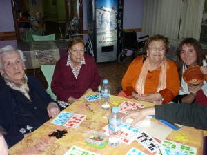 Jugando al Bingo